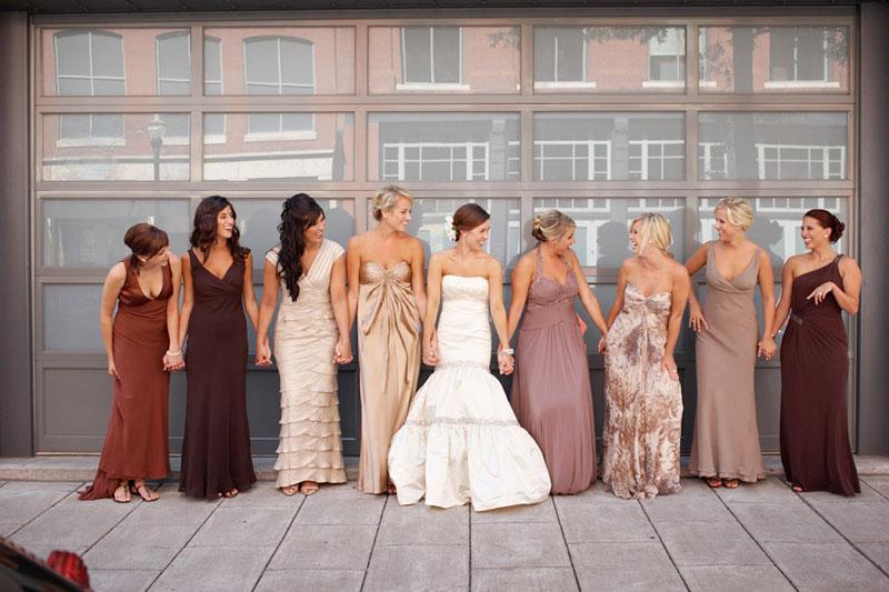 Какое одеть платье на свадьбу